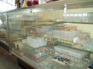 Amazing ice jig selection